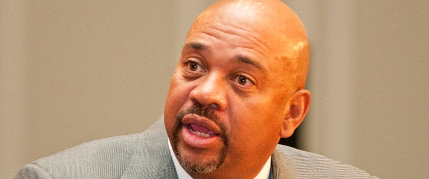 Michael Wilbon of ABC/ESPN was one of the members of the Shirley Povich Symposium panel. Charlie DeBoyace/The Diamondback